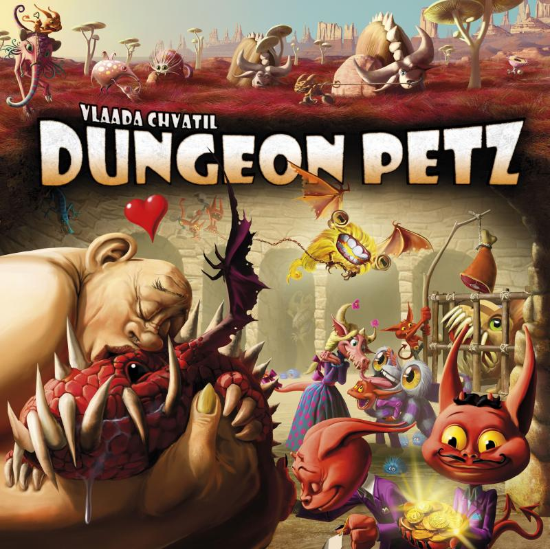настольная игра Dungeon Petz