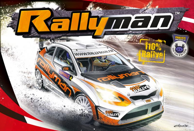 настольная игра Rallyman