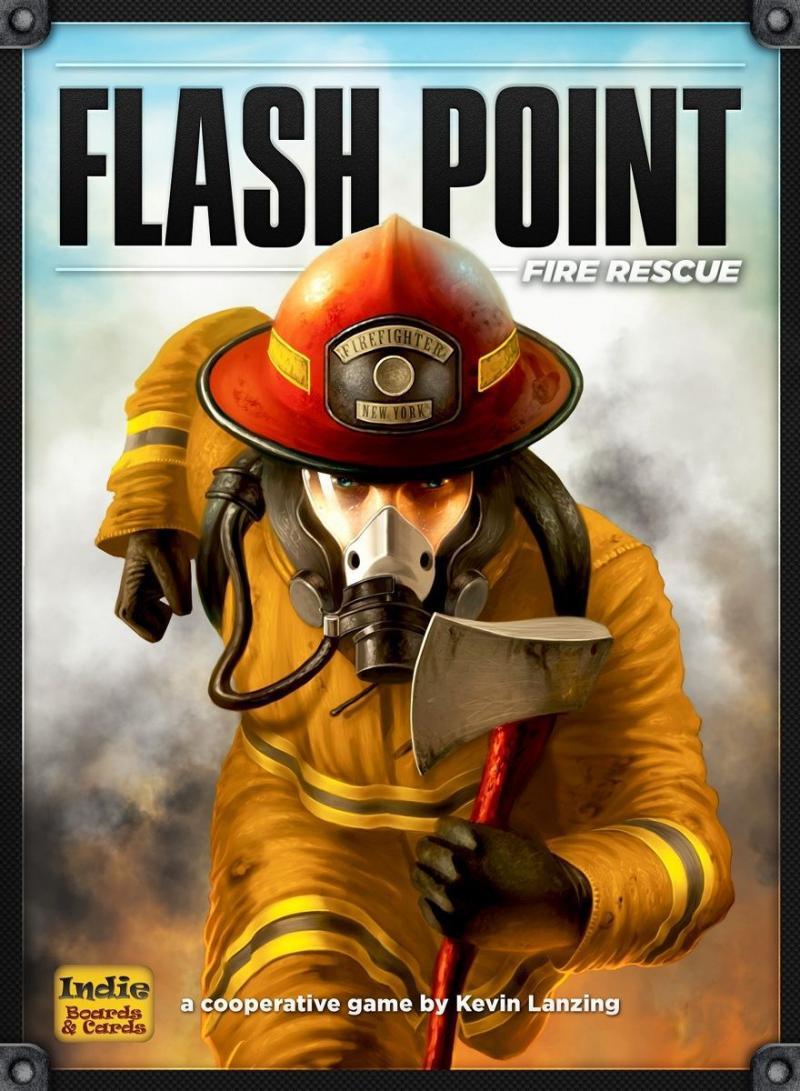 настольная игра Flash Point: Fire Rescue Точка воспламенения: пожарная помощь