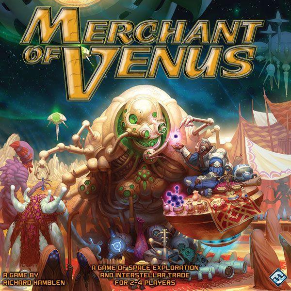 настольная игра Merchant of Venus (second edition) Торговец Венеры (второе издание)