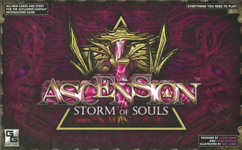 настольная игра Ascension: Storm of Souls Вознесение: Буря Душ