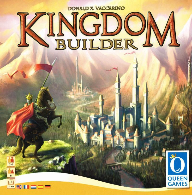 настольная игра Kingdom Builder Королевство Строитель