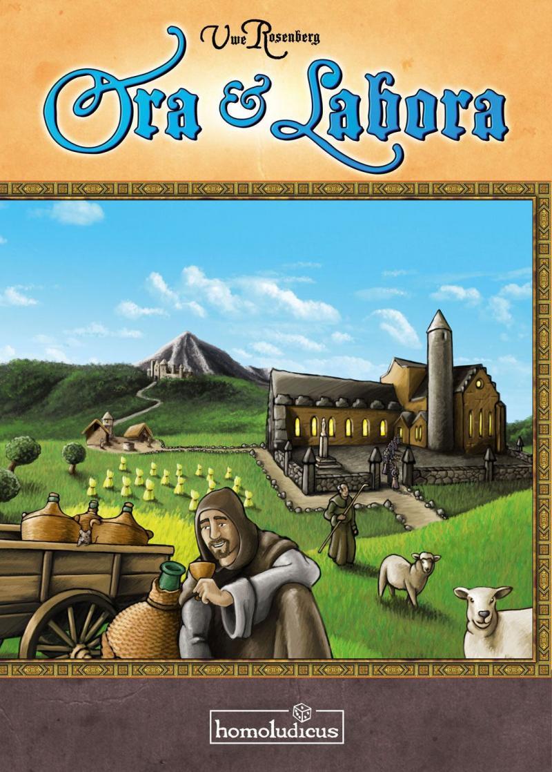 настольная игра Ora et Labora Ора и Лабора