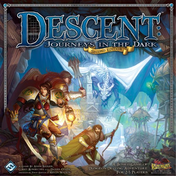 настольная игра Descent: Journeys in the Dark (Second Edition) Спуск: Путешествия в темноте (второе издание)