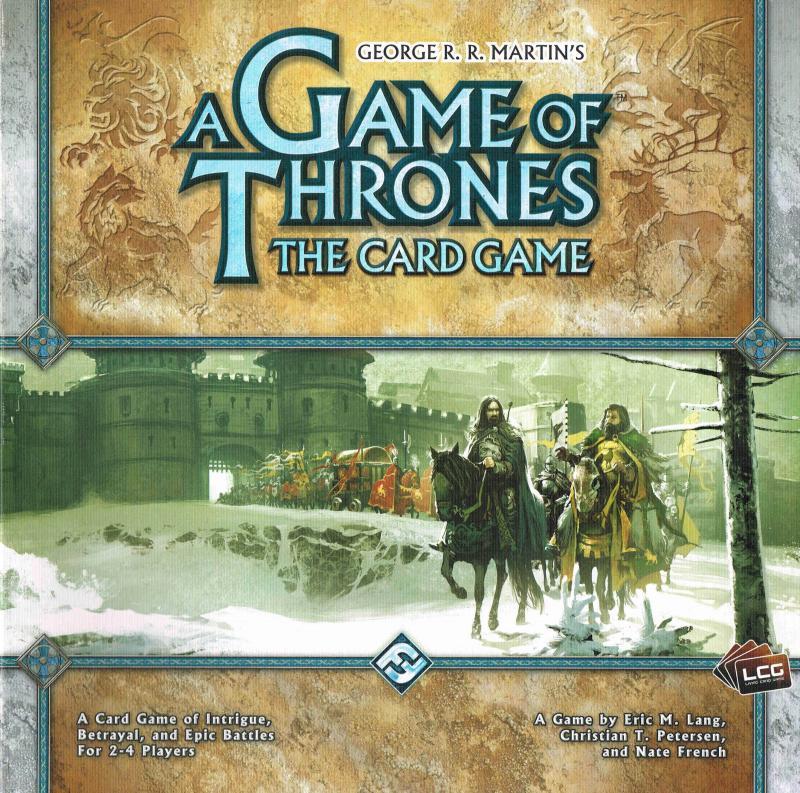 настольная игра A Game of Thrones: The Card Game Игра престолов: карточная игра