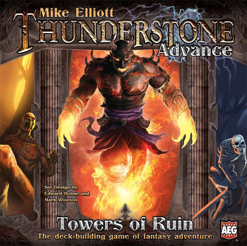 настольная игра Thunderstone Advance: Towers of Ruin Прогресс Громового Камня: Башни Руин