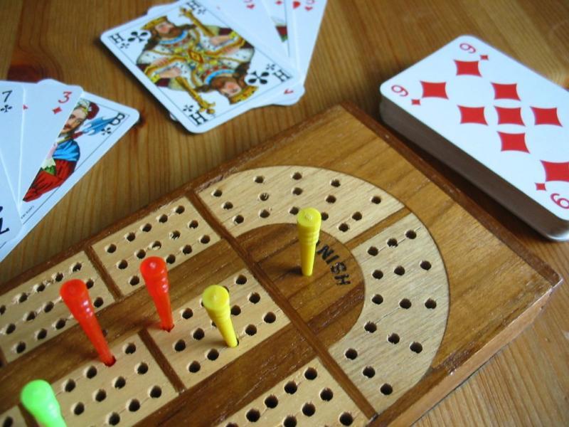 настольная игра Cribbage Криббидж