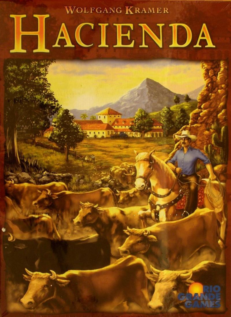 настольная игра Hacienda Гасиенда