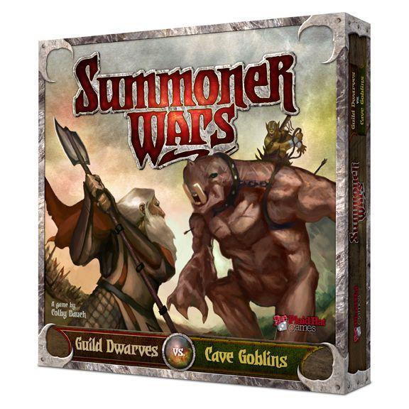настольная игра Summoner Wars: Guild Dwarves vs Cave Goblins Summoner Wars: гильдия гномов против пещерных гоблинов