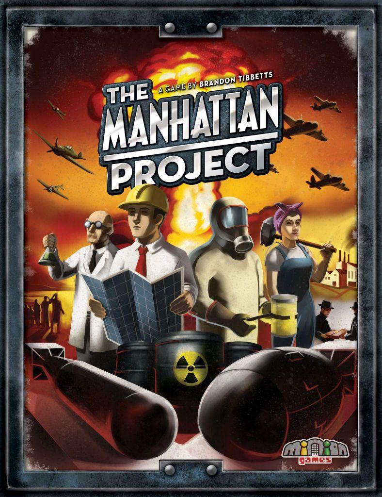 настольная игра The Manhattan Project Манхэттенский проект