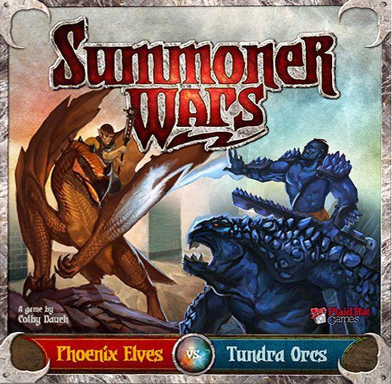 настольная игра Summoner Wars: Phoenix Elves vs Tundra Orcs Summoner Wars: эльфы-фениксы против тундровых орков