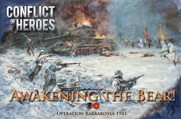 настольная игра Conflict of Heroes: Awakening the Bear! – Operation Barbarossa 1941 (second edition) Конфликт Героев: Пробуждение Медведя! - Операция Барбаросса 1941 (второе издание)