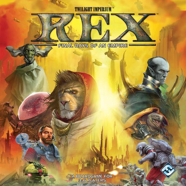 настольная игра Rex: Final Days of an Empire Рекс: последние дни империи