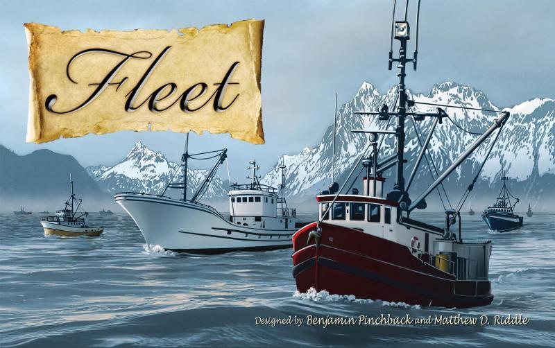 настольная игра Fleet Флот