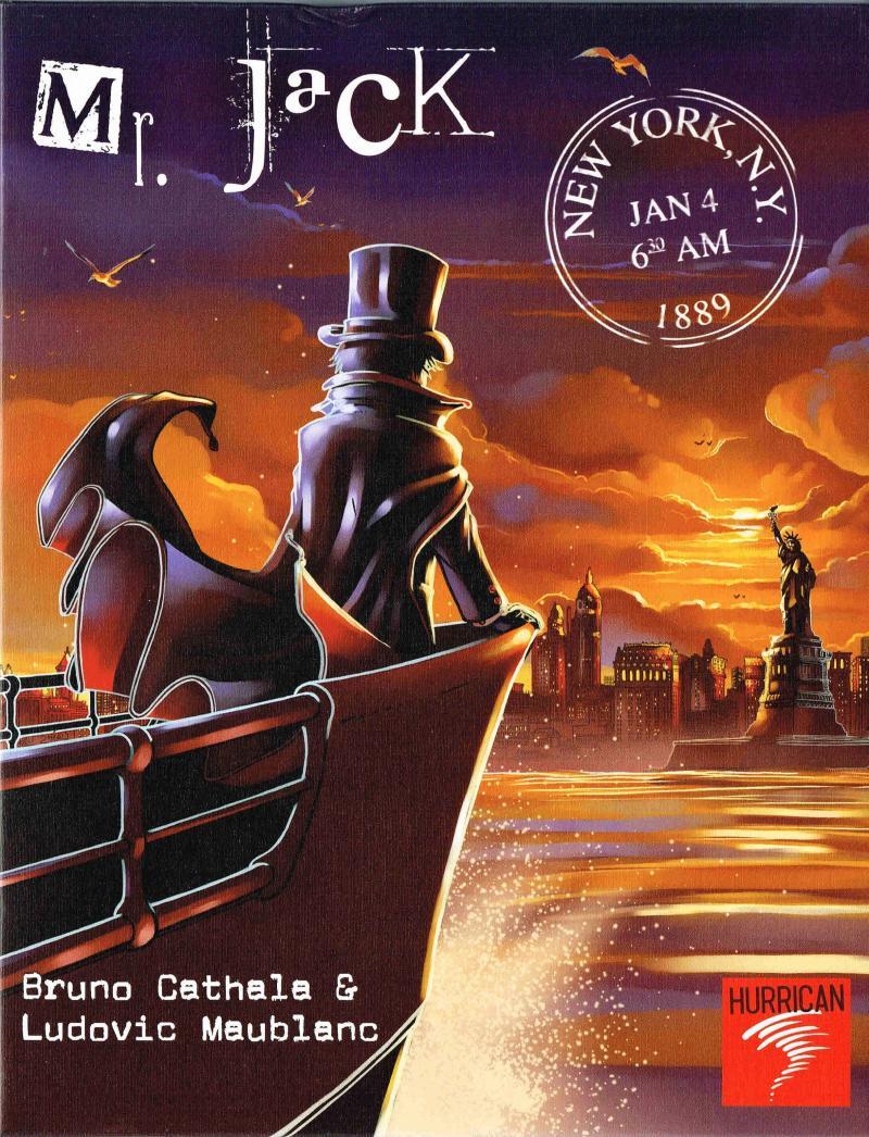 настольная игра Mr. Jack in New York Мистер Джек в Нью-Йорке