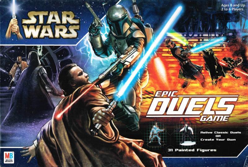 настольная игра Star Wars: Epic Duels Звездные войны: эпические поединки