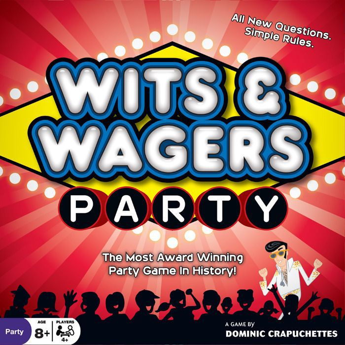 настольная игра Wits & Wagers Party Wits & Wagers Party