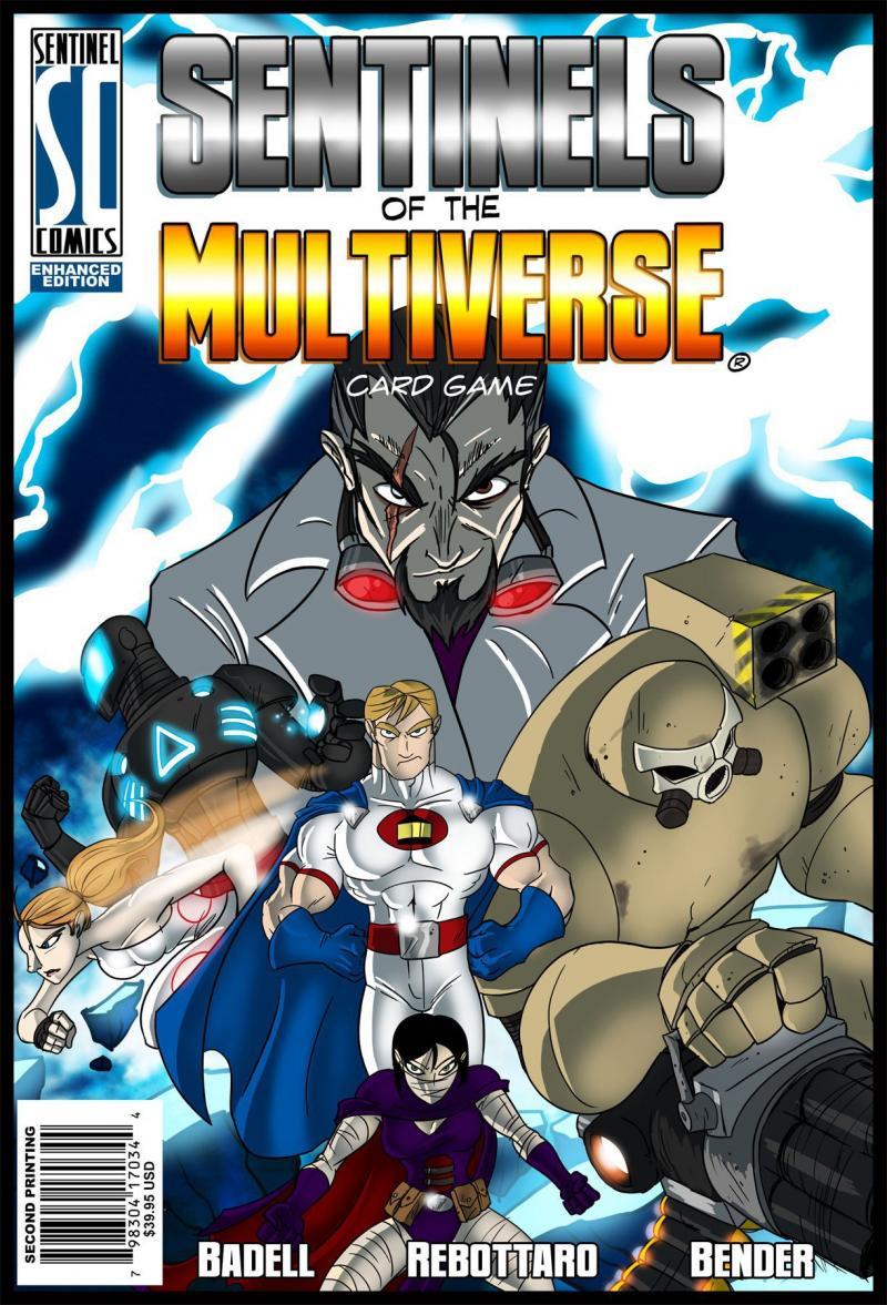 настольная игра Sentinels of the Multiverse Часовые Мультивселенной