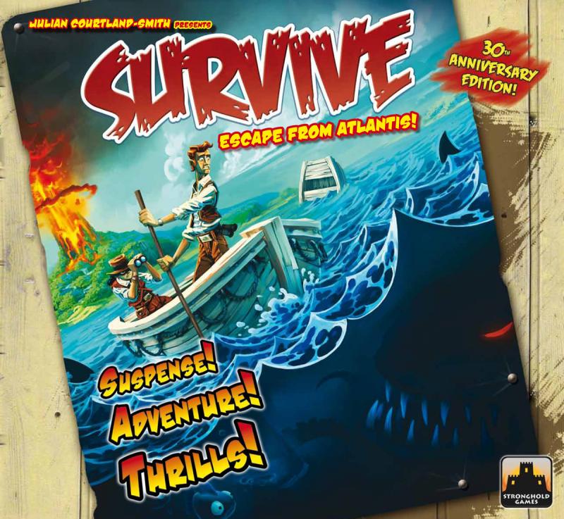 настольная игра Survive: Escape from Atlantis! Выжить: бежать из Атлантиды!