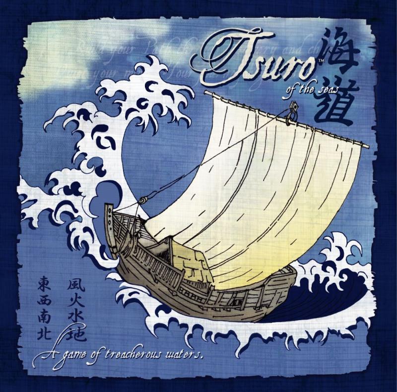 настольная игра Tsuro of the Seas Цуро морей