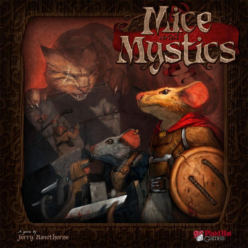 настольная игра Mice and Mystics Мыши и Мистики
