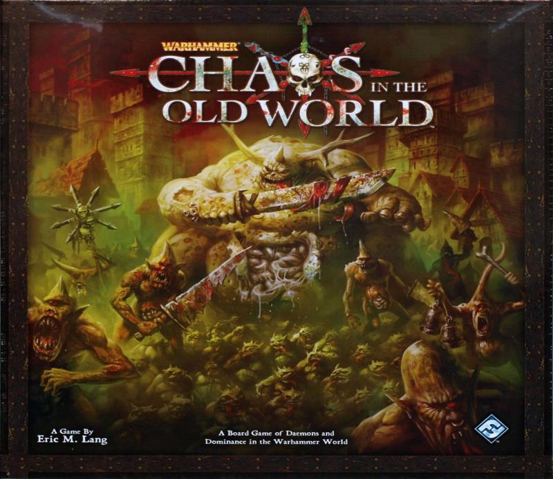 настольная игра Chaos in the Old World Хаос в Старом Свете