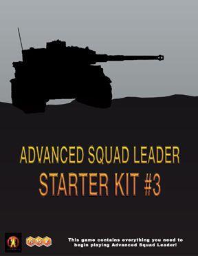 настольная игра Advanced Squad Leader: Starter Kit #3 Продвинутый командир отряда: стартовый комплект № 3