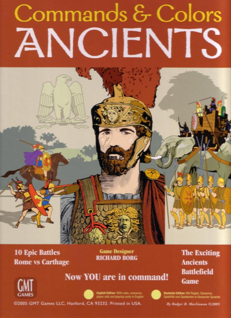 настольная игра Commands & Colors: Ancients Команды и Цвета: Древние