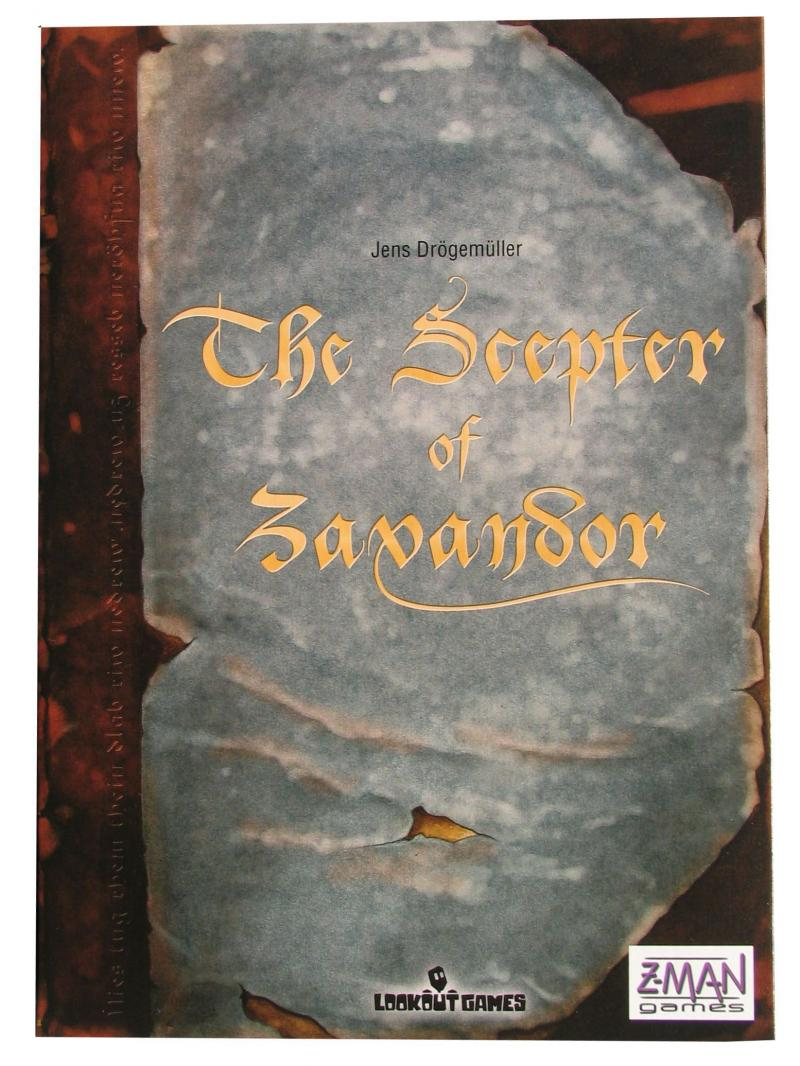 настольная игра The Scepter of Zavandor Скипетр Завандора