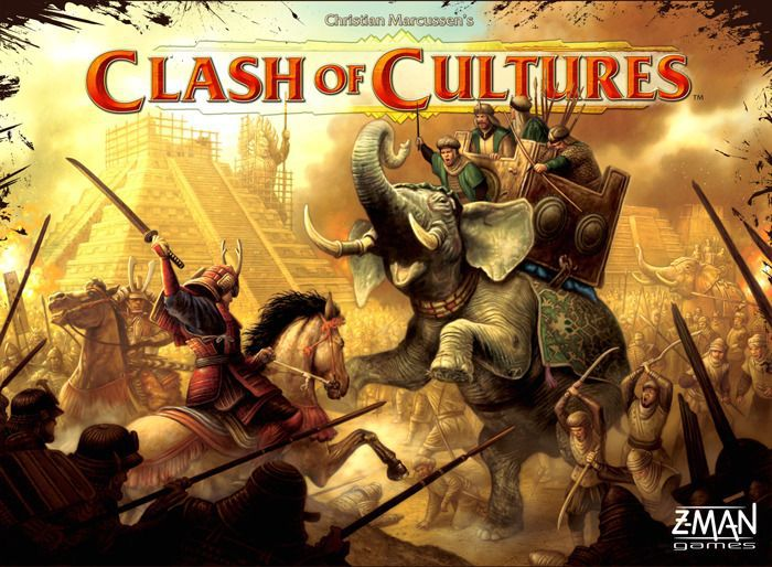 настольная игра Clash of Cultures Столкновение культур