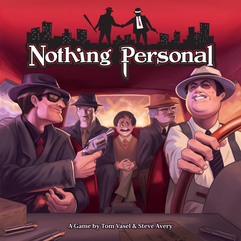 настольная игра Nothing Personal Ничего личного