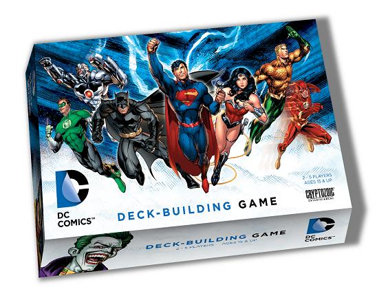 настольная игра DC Comics Deck-Building Game DC Comics Игра для создания колоды