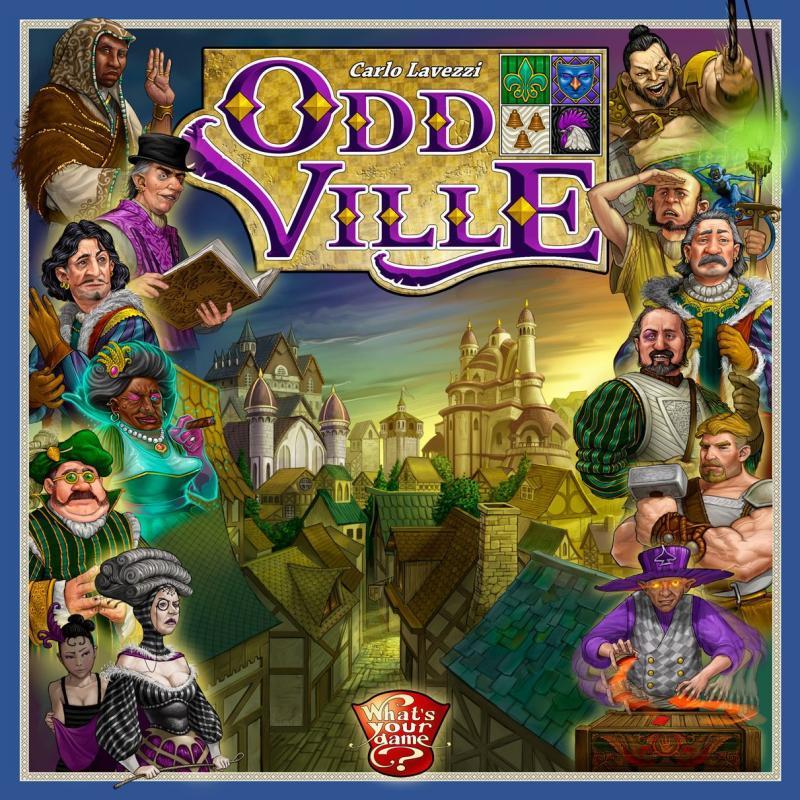 настольная игра OddVille
