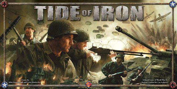 настольная игра Tide of Iron Прилив железа
