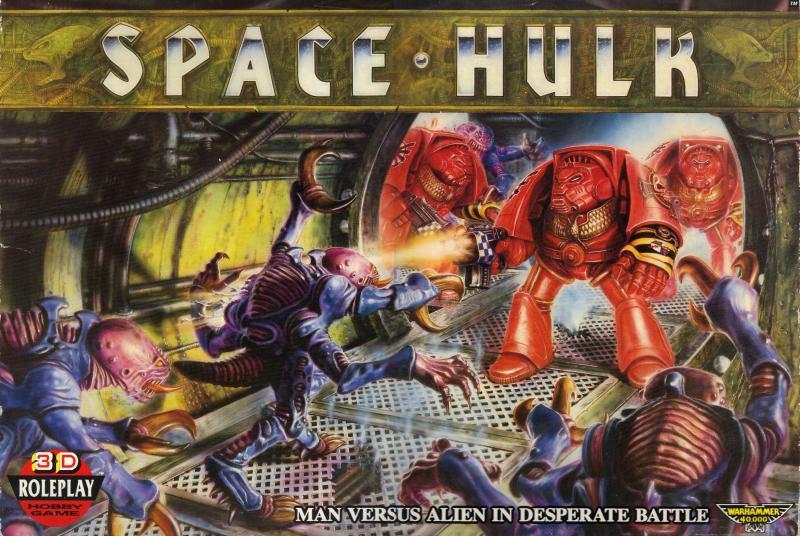настольная игра Space Hulk Космический Халк