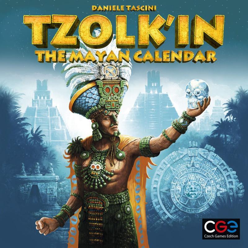 настольная игра Tzolk'in: The Mayan Calendar Цолькин: календарь майя