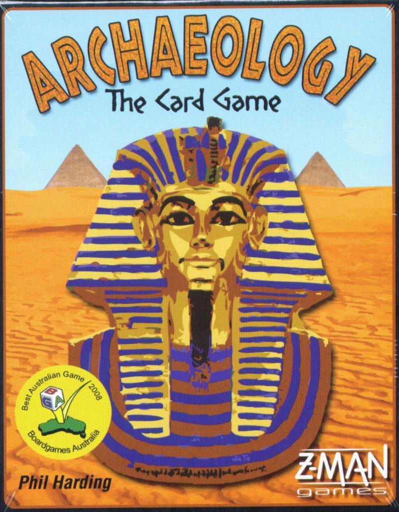 настольная игра Archaeology: The Card Game Археология: карточная игра