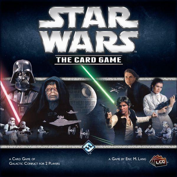 настольная игра Star Wars: The Card Game Звездные войны: карточная игра