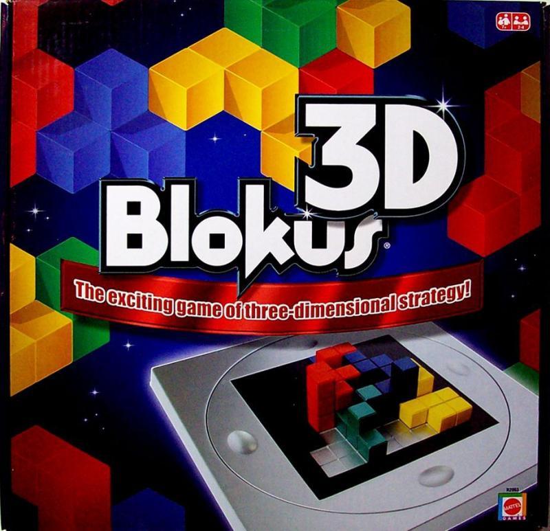 настольная игра Blokus 3D Блок 3D