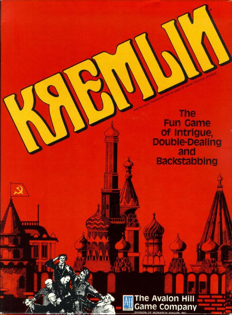 настольная игра Kremlin Кремль