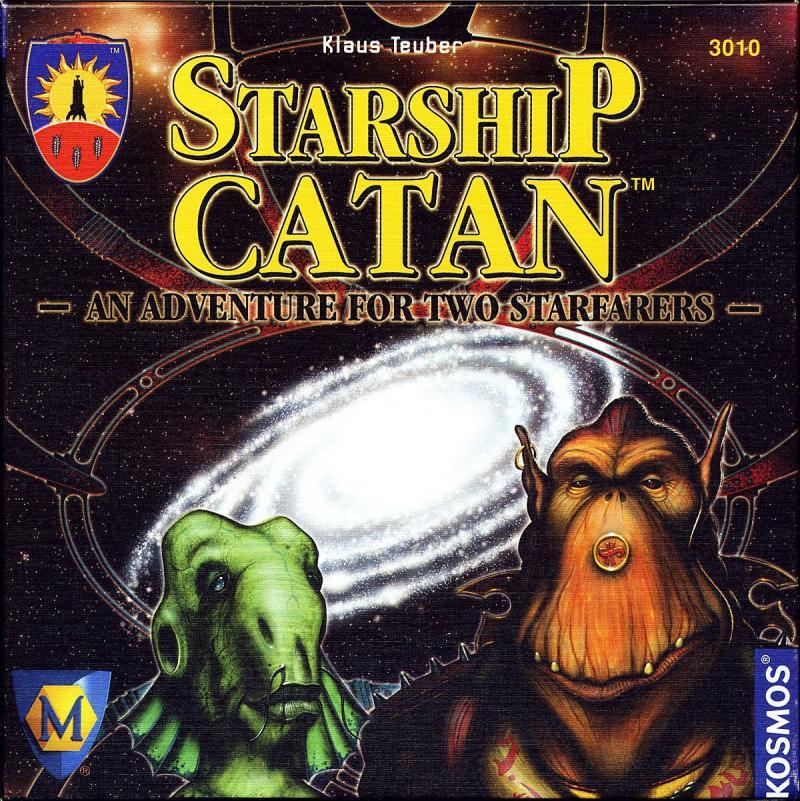настольная игра Starship Catan Звездолет катан