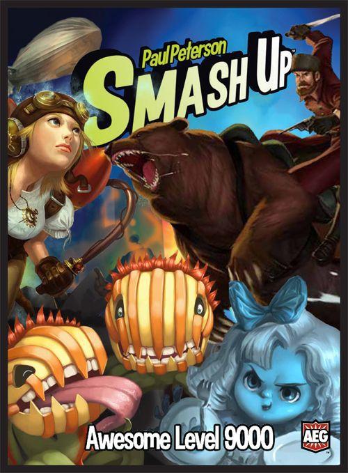 настольная игра Smash Up: Awesome Level 9000 Smash Up: Высокий уровень 9000