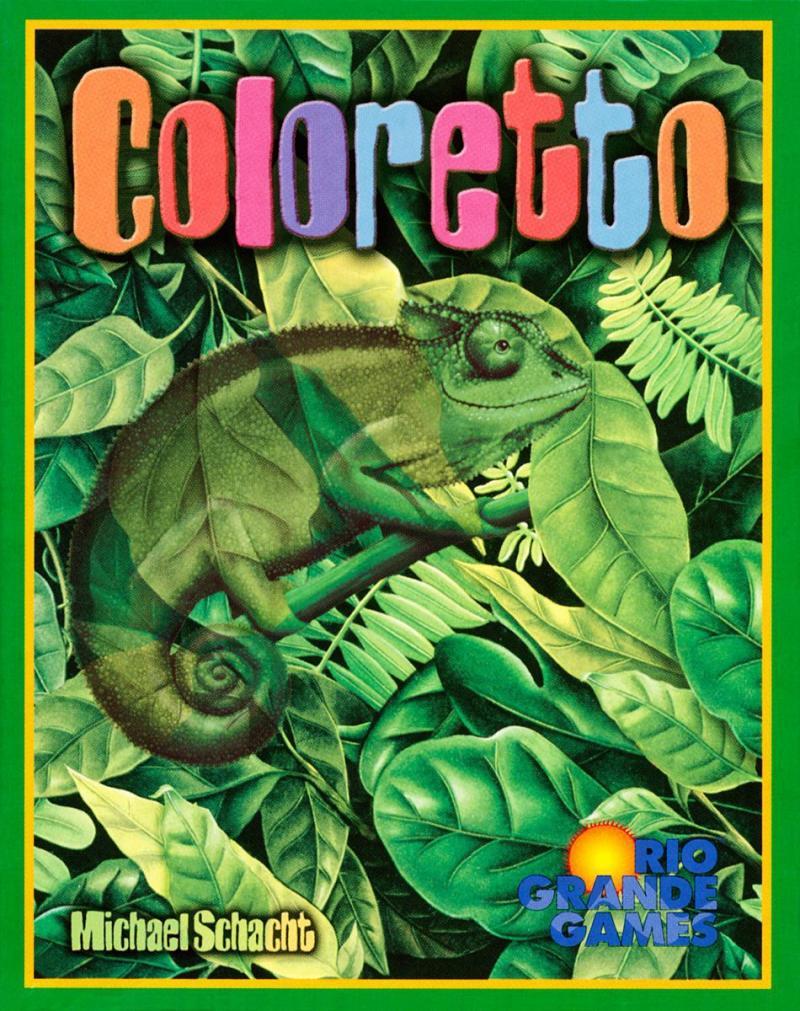 настольная игра Coloretto