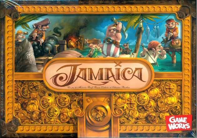настольная игра Jamaica Ямайка