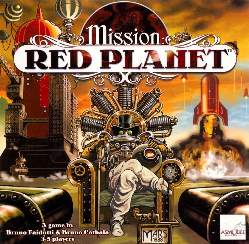 настольная игра Mission: Red Planet Миссия: Красная Планета