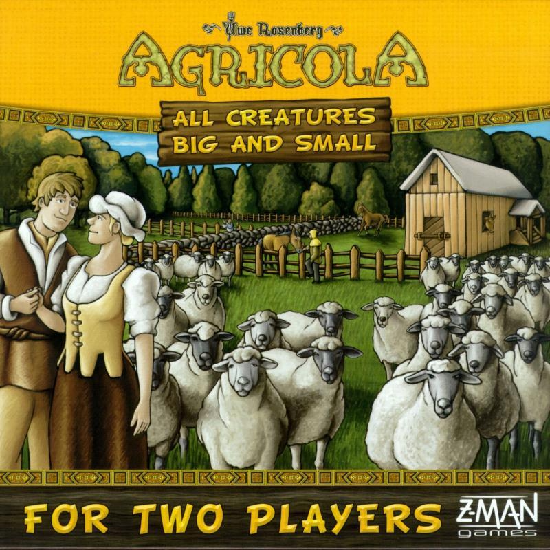 настольная игра Agricola: All Creatures Big and Small Агрикола: все существа большие и маленькие