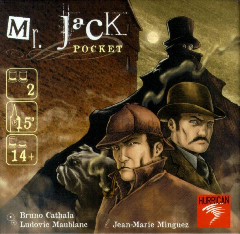 настольная игра Mr. Jack Pocket Мистер джек карман