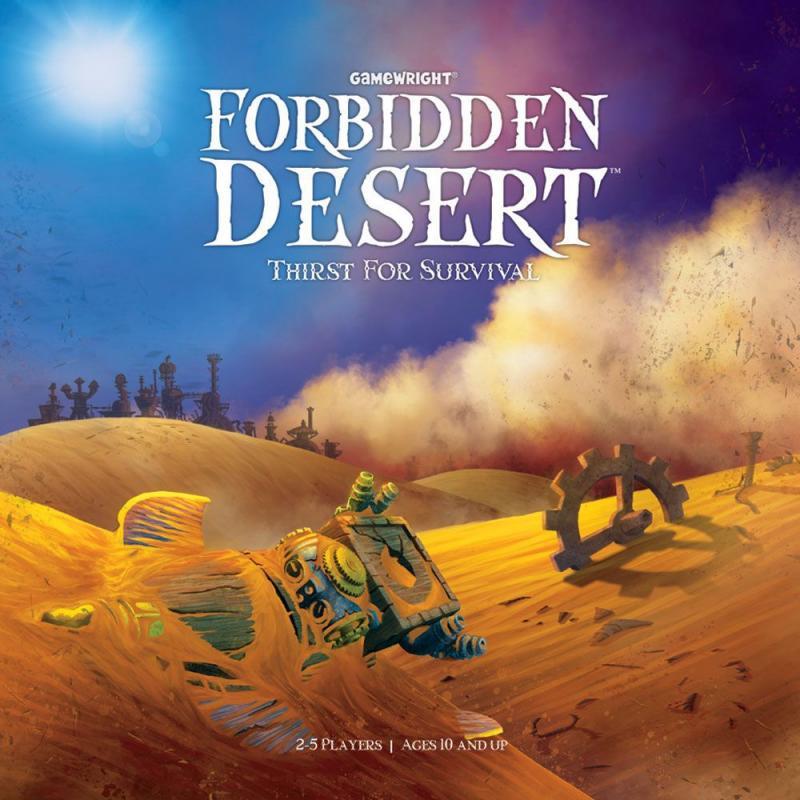 настольная игра Forbidden Desert Запретная пустыня