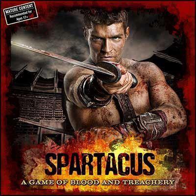 настольная игра Spartacus: A Game of Blood & Treachery Спартак: игра крови и предательства