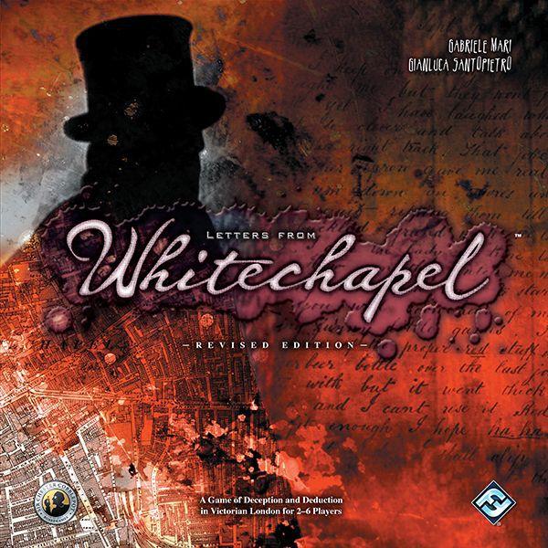настольная игра Letters from Whitechapel Письма из Уайтчепела